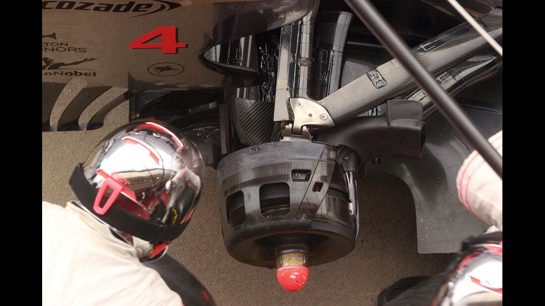 McLaren Test Barcelona 2012