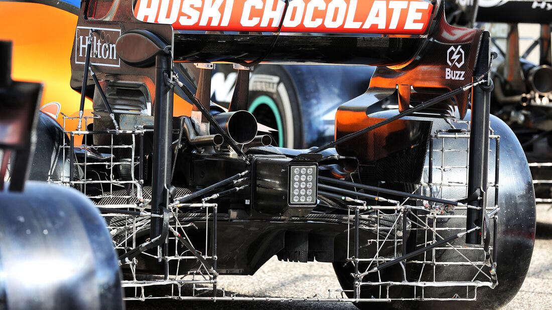 McLaren - Test - Formel 1 - Bahrain - 12. März 2021