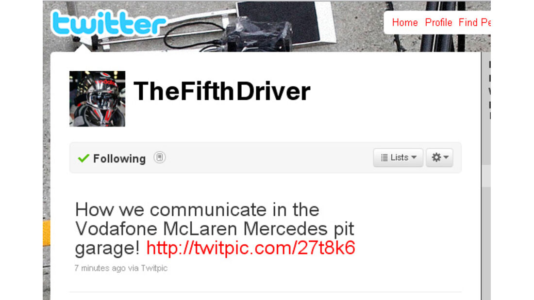 McLaren-Twitter