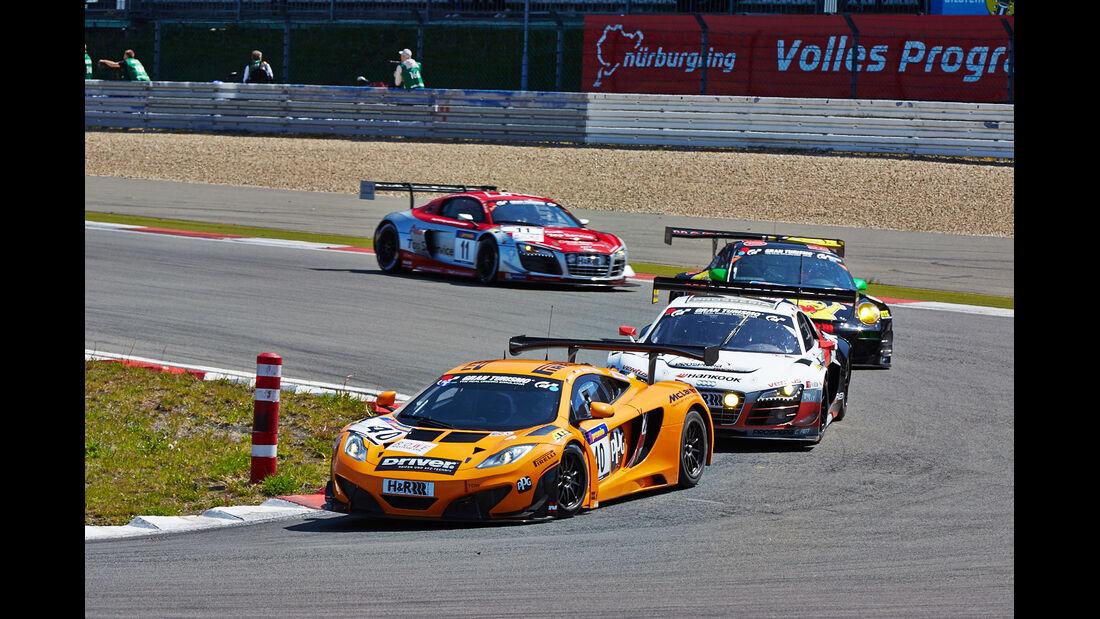 McLaren  - VLN Nürburgring - 4. Lauf - 17. Mai 2014