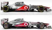 McLaren Vergleich MP4-26 vs. MP4-27
