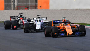 McLaren, Williams & HaasF1 - Barcelona-Test - F1 - 2018