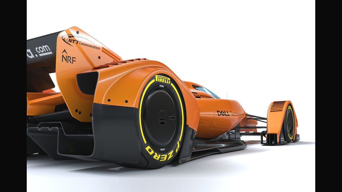 McLaren X2 - F1 Concept - Studie - 2018