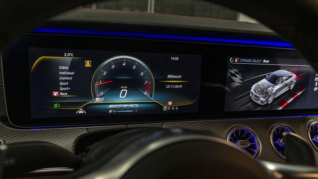Mecedes AMG GT 63 4-Türer Coupe, Interieur