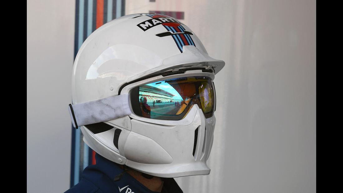 Mechaniker-Helme - Williams - F1 - 2016