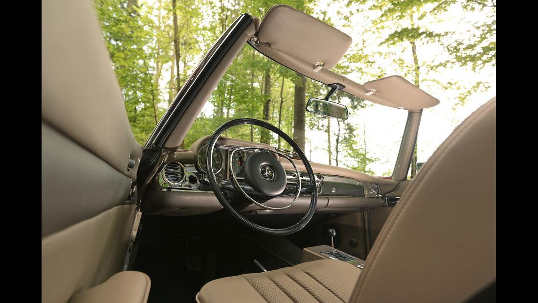 Mechatronik-Mercedes SL, Cockpit