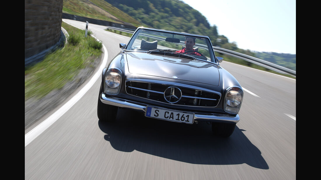 Mechatronik-Mercedes SL, Frontansicht