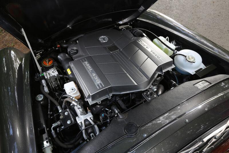 Mechatronik-Mercedes SL, Motor