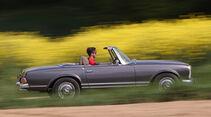 Mechatronik-Mercedes SL, Seitenansicht