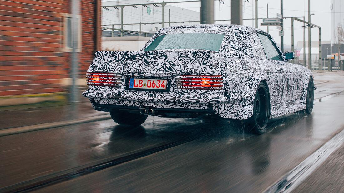 Mechatronik Project 107 Mercedes SLC Erlkönig
