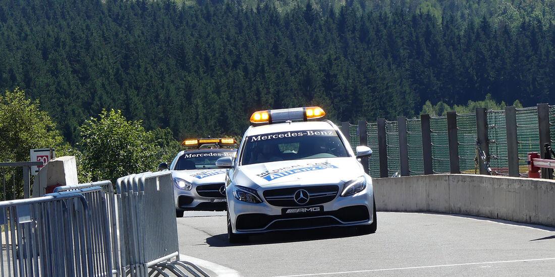 Medical-Car - Formel 1 - GP Belgien - Spa-Francorchamps - 25. August 2016