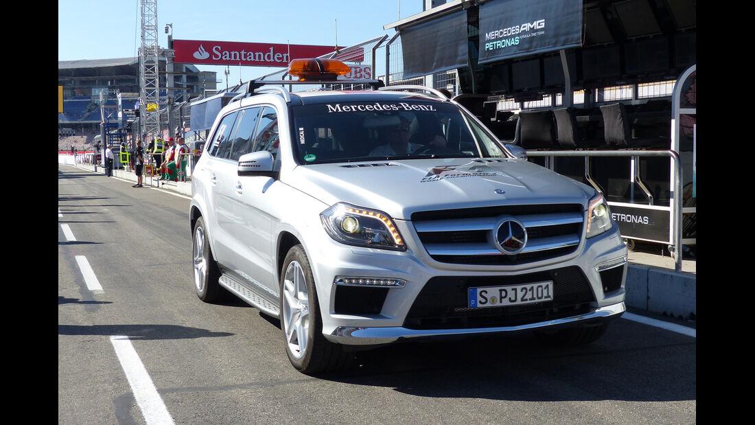 Medical Car - Formel 1 - GP Deutschland - Hockenheim - 18. Juli 2014