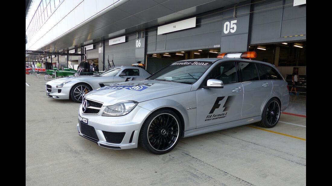 Medical-Car - Formel 1 - GP England - Silverstone - 3. Juli 2014