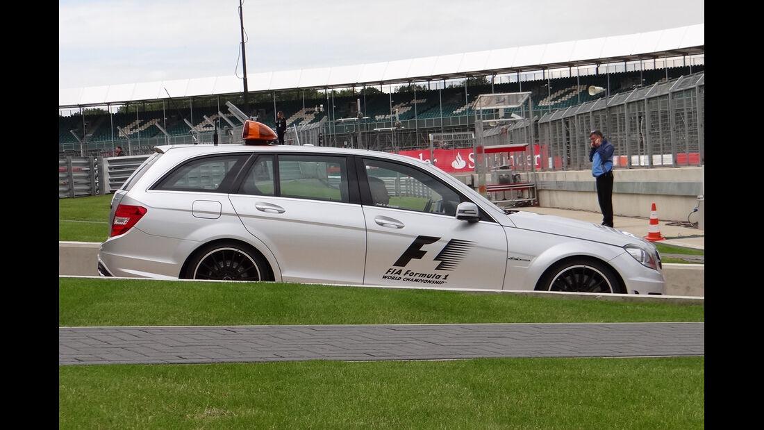 Medical-Car - Formel 1 - GP England - Silverstone - 5. Juli 2012