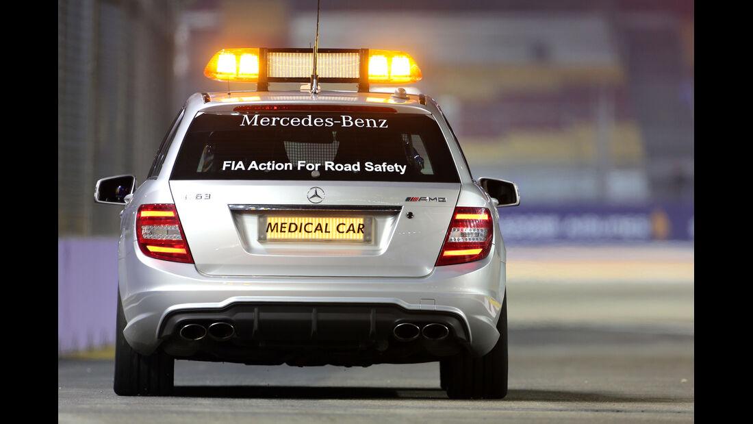 Medical Car - Formel 1 - GP Singapur - 18. September 2014
