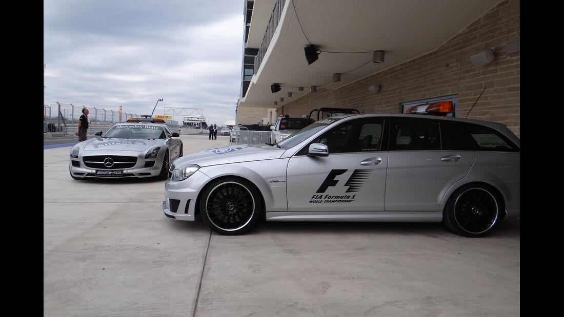 Medical Car - Formel 1 - GP USA - Austin - 15. November 2012