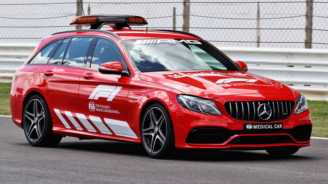 Medical-Car - Formel 1 - Portimao - GP Portugal - 29. April 2021