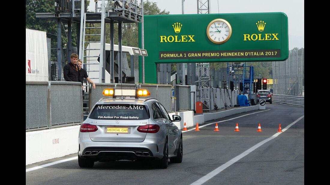 Medical-Car - GP Italien - Monza - Formel 1 - 31. August 2017