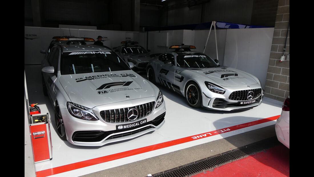 Medical Car - Safety Car - GP Belgien - Spa-Francorchamps - Formel 1 - Mittwoch - 28.8.2019