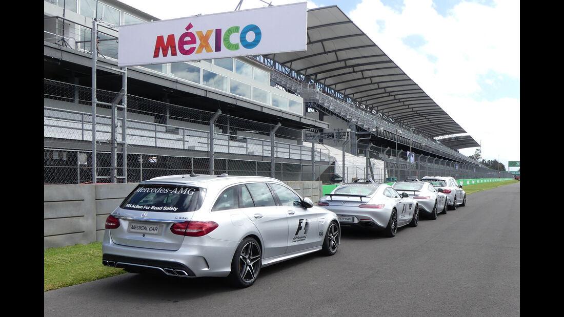 Medical Car - Safety Car - GP Mexiko - Formel 1 - Mittwoch - 25.10.2017