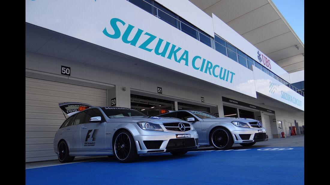 Medical Cars - Formel 1 - GP Japan - Suzuka - 4. Oktober 2012