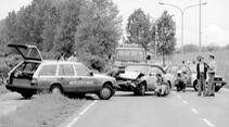Meilensteine der Sicherheit bei Mercedes-Benz: Erfolgsgeschichte passive SicherheitSafety milestones of Mercedes-Benz: Passive safety success story