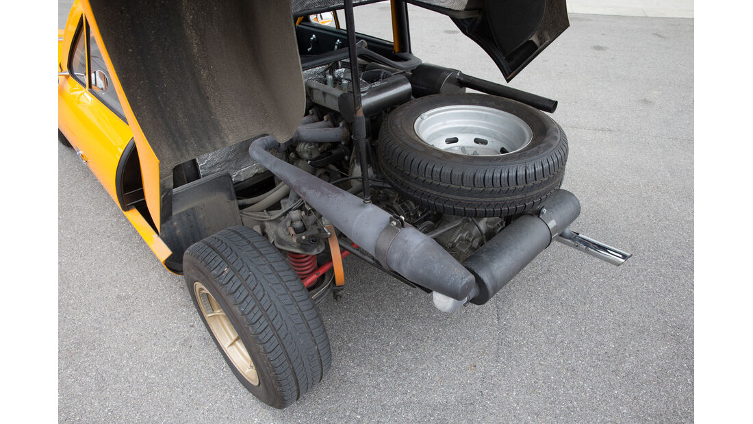Melkus RS 1000, Auspuff