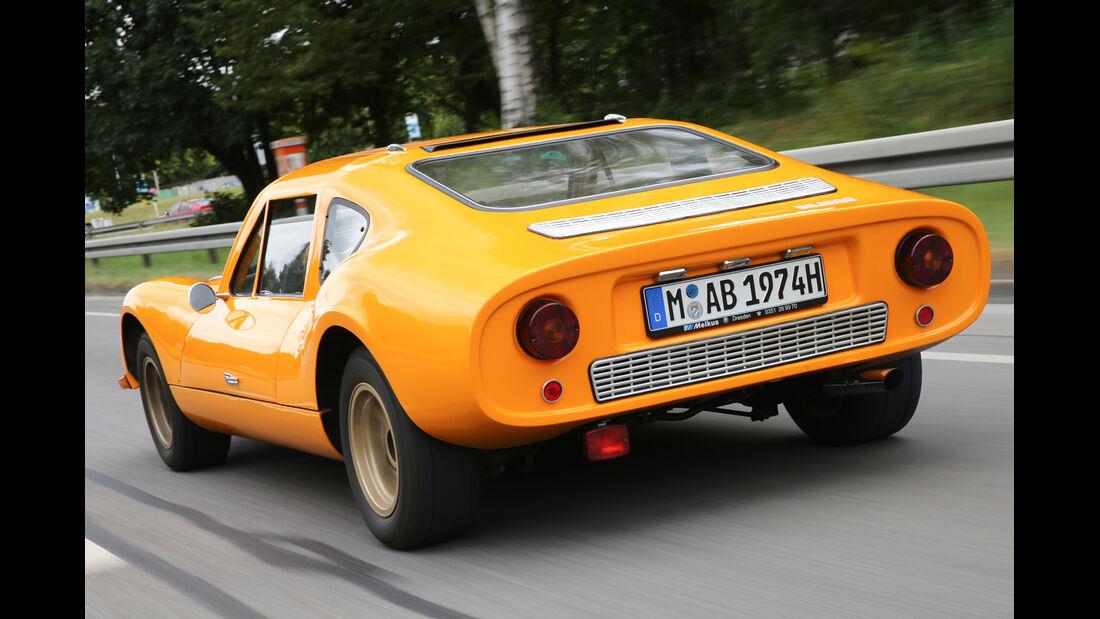 Melkus RS 1000, Heckansicht