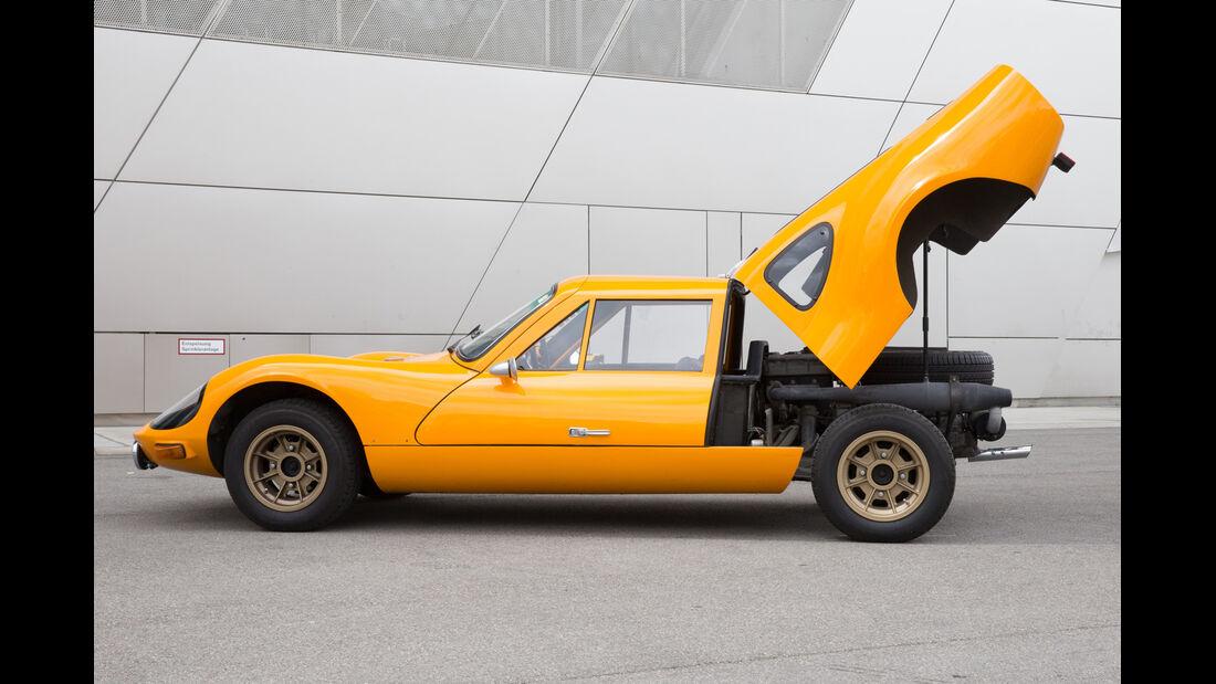 Melkus RS 1000, Heckklappe