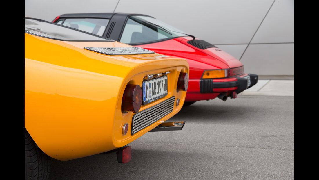 Melkus RS 1000, Porsche 911 SC, Heck