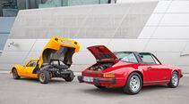 Melkus RS 1000, Porsche 911 SC, Heckklappe