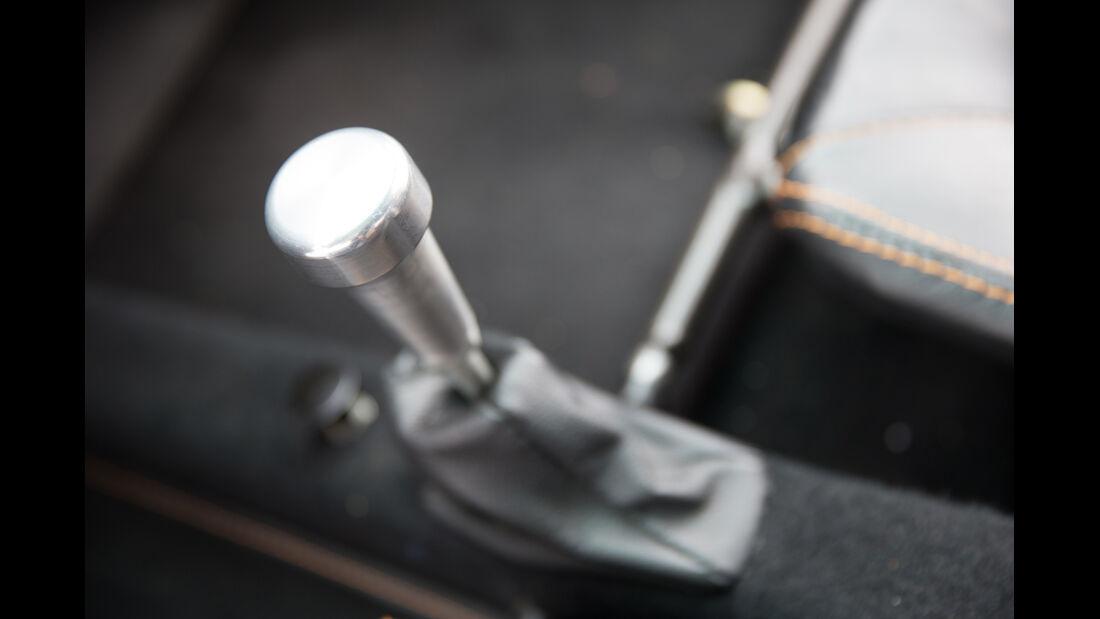 Melkus RS 1000, Schalthebel