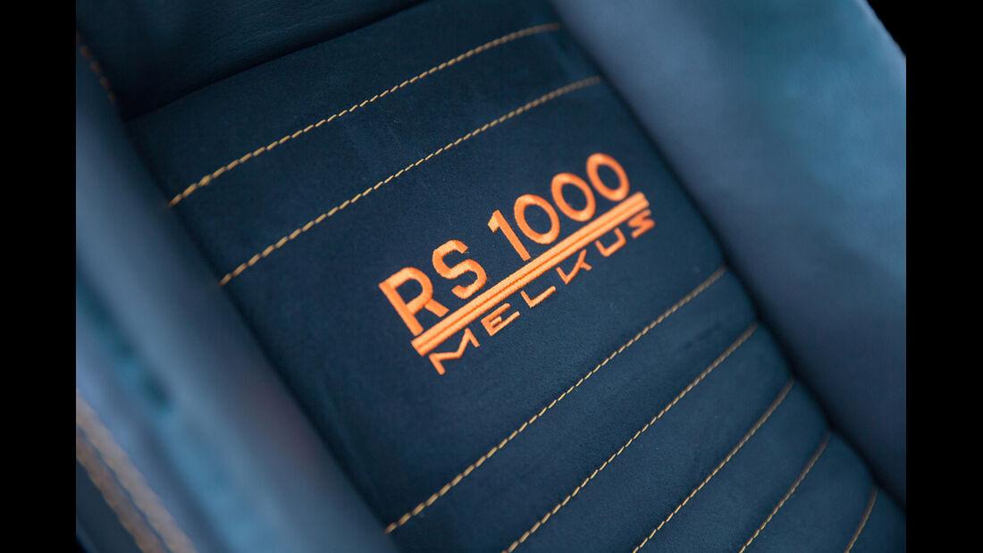 Melkus RS 1000, Sitzbezug