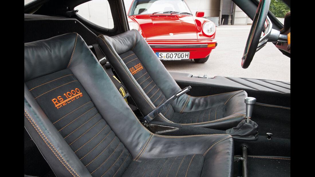 Melkus RS 1000, Sitze