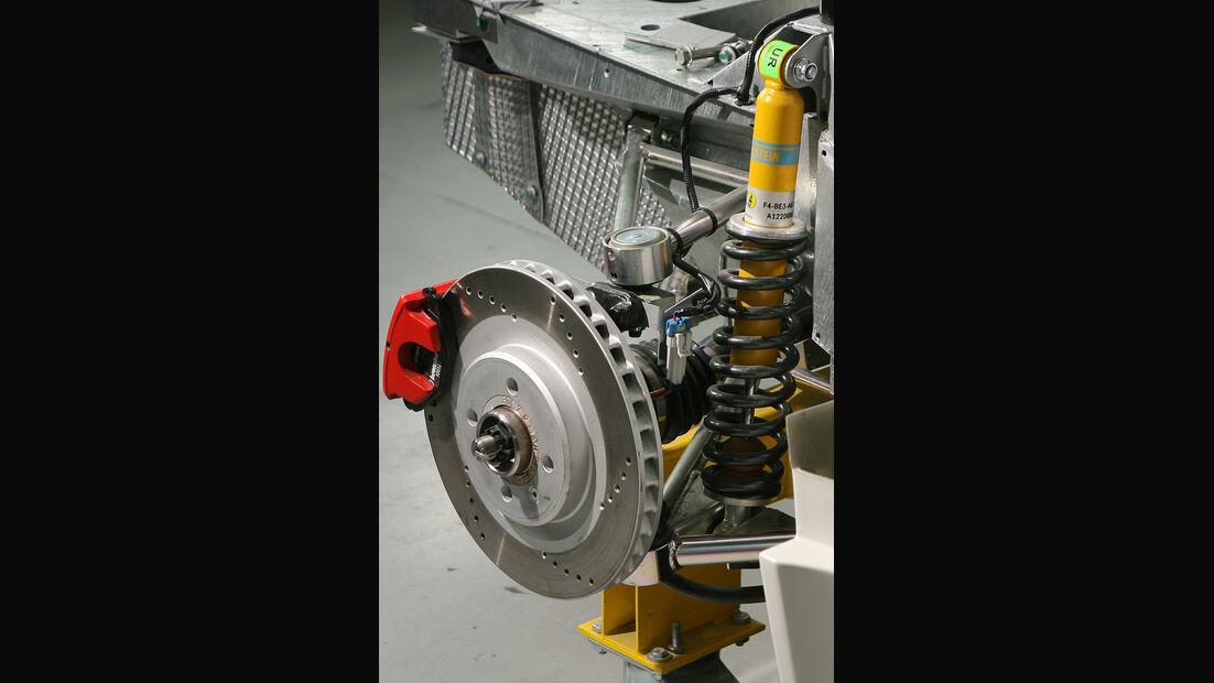Melkus RS 2000, Produktion, Bremse