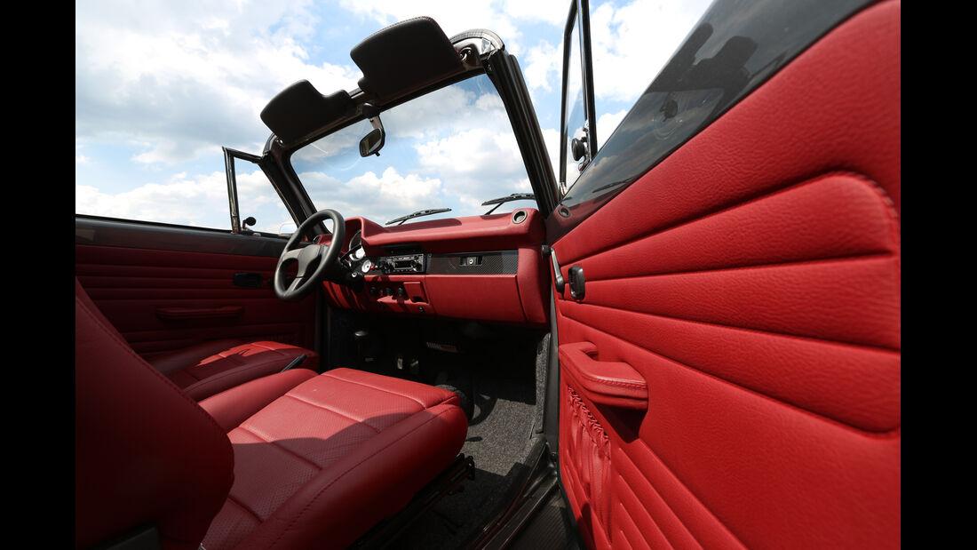 Memminger-VW Käfer, Cockpit