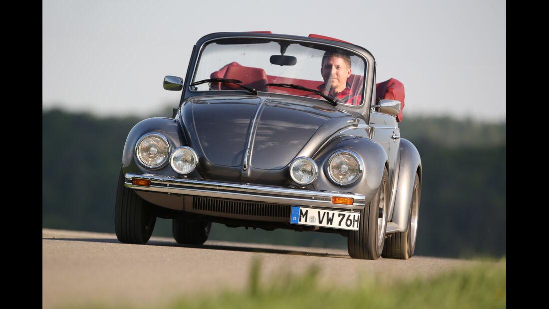 Memminger-VW Käfer, Frontansicht