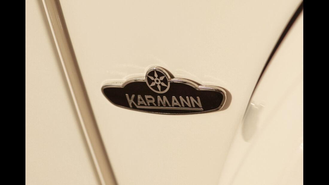 Memminger- VW Käfer, Karman Logo, Detail