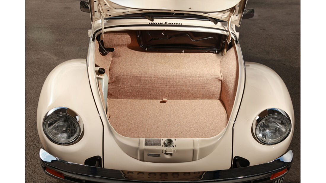 Memminger- VW Käfer, Kofferraum, Detail