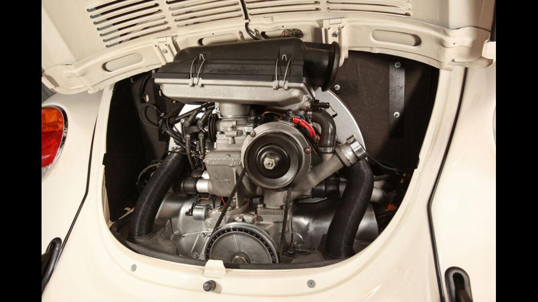 Memminger- VW Käfer, Motorraum, Detail