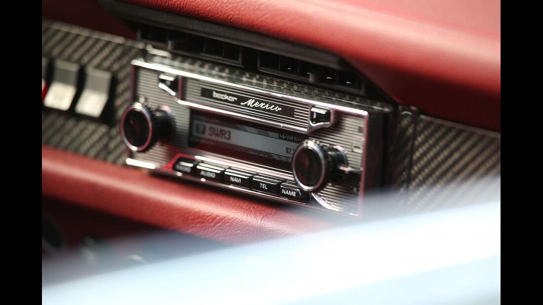 Memminger-VW Käfer, Navi-Radio