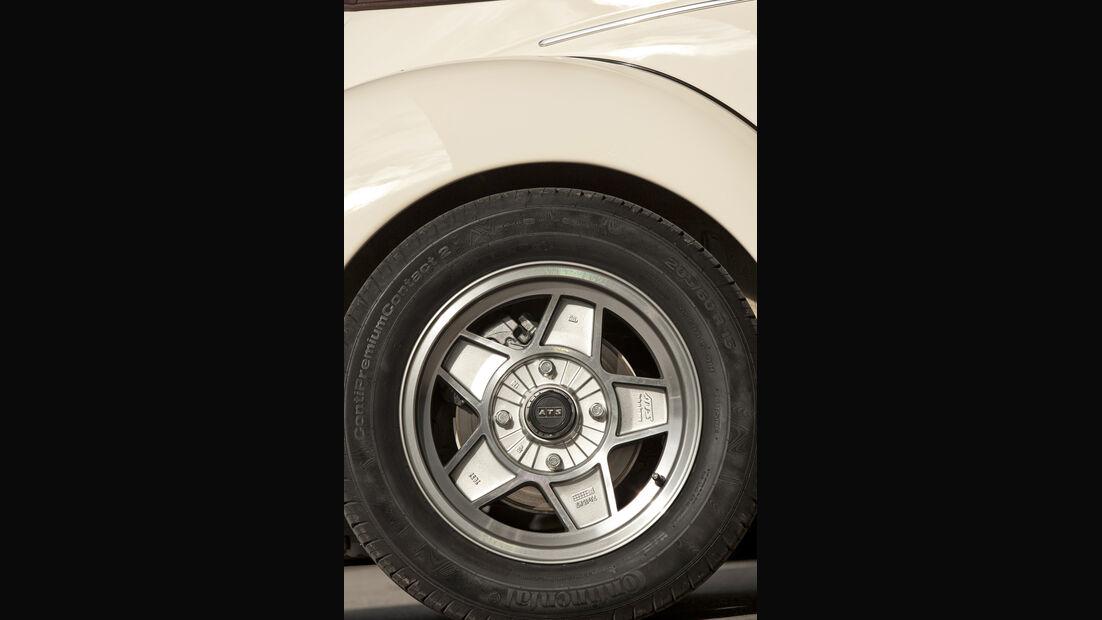 Memminger- VW Käfer, Reifen, Rad, Detail
