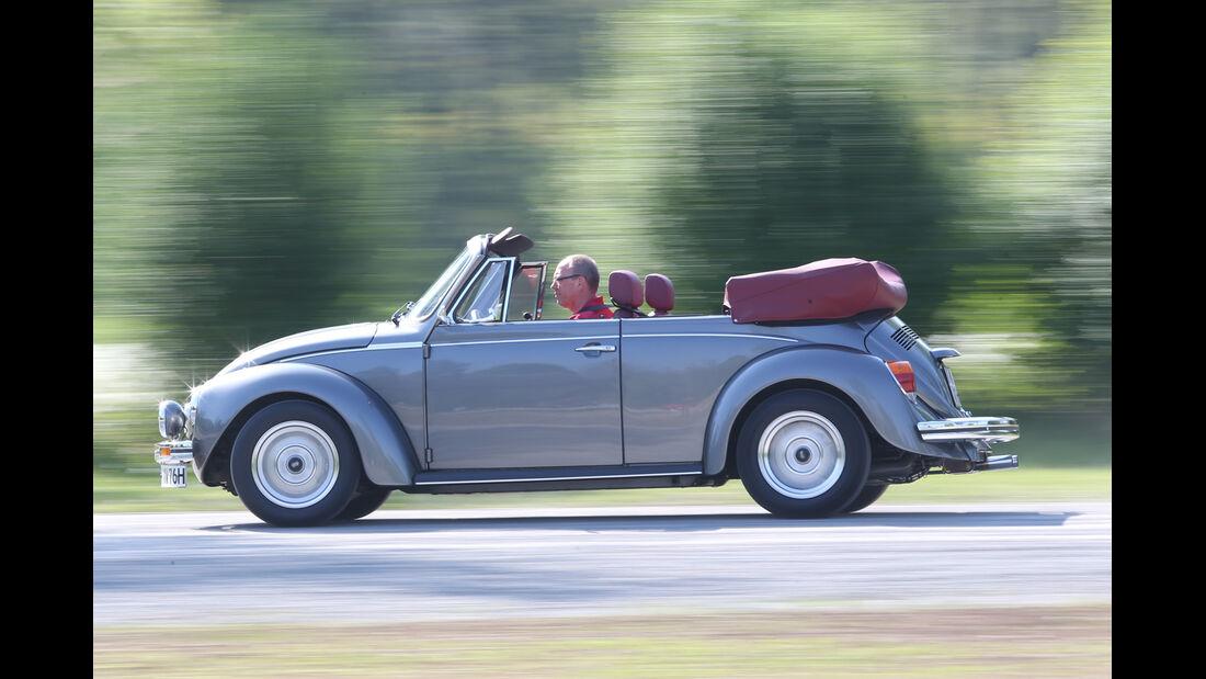 Memminger-VW Käfer, Seitenansicht
