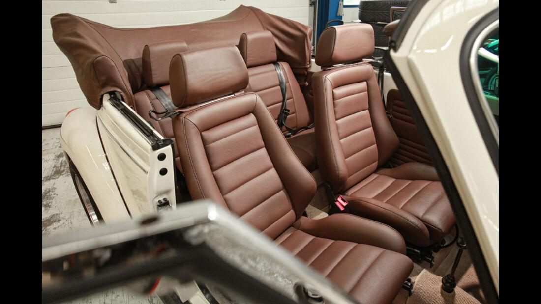 Memminger- VW Käfer, Sitze, Detail