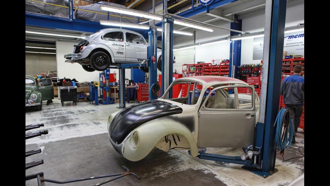 Memminger- VW Käfer, Werkstatt, Detail