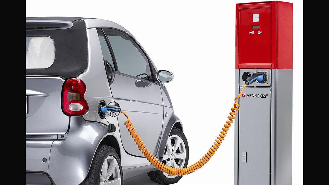 Mennekes Ladestation, Smart, E-Auto, Elektroauto, E-Smart