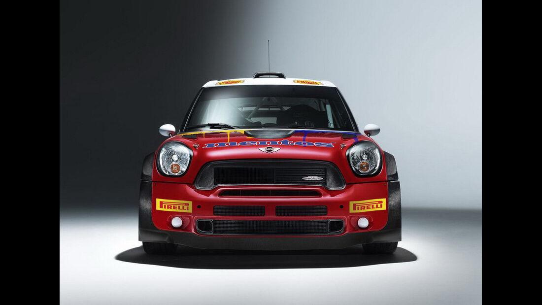 Mentos Mini Countryman WRC 2013