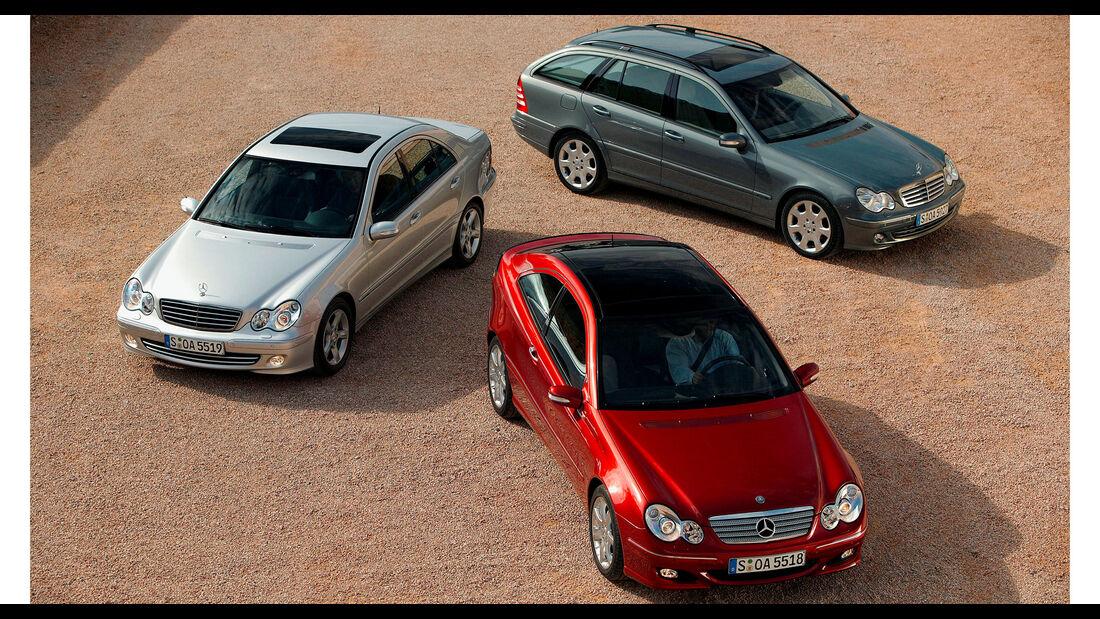 Mercdes C-Klasse W203 Limousine T-Modell Sportcoupe