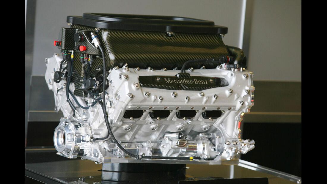 Mercdes V8 F1 Motor