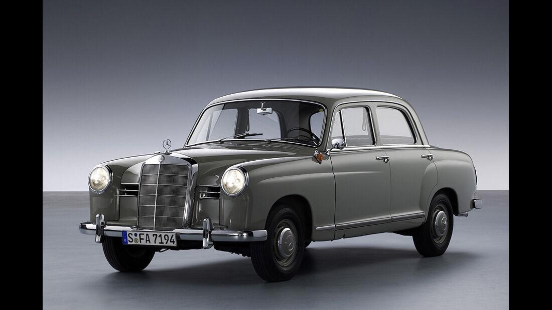 Mercedes 180 - Frontansicht